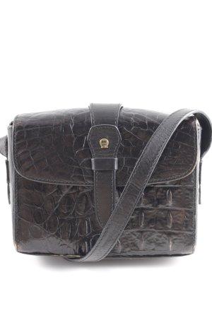 Aigner Handtasche schwarz-goldfarben Elegant