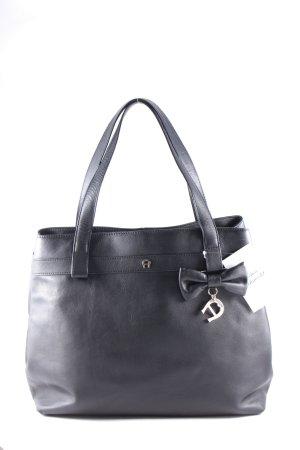 Aigner Handtasche schwarz klassischer Stil