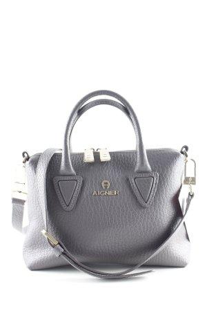 "Aigner Handtasche ""Sefora Mini Crossbody Bag S Storm Grey"" grauviolett"