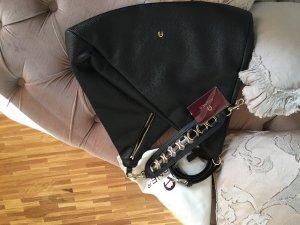 Aigner - Handtasche Umhängetasche schwarz