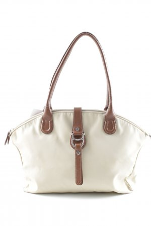 Aigner Carry Bag cream-brown simple style