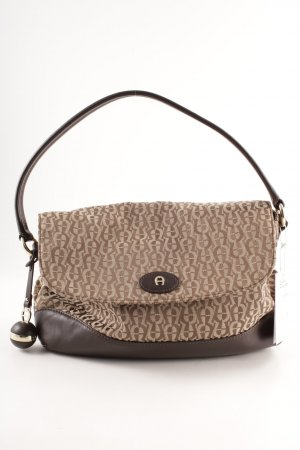 Aigner Carry Bag light brown-black brown elegant