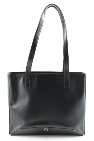 Aigner Carry Bag black-dark red simple style