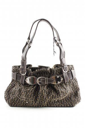 Aigner Carry Bag black-gold-colored allover print elegant