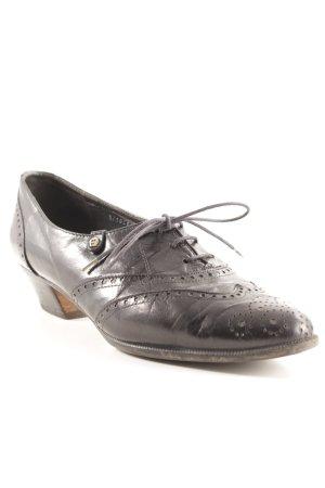 Aigner Chaussure à talons carrés noir style d'affaires