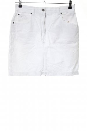 Aigner Denim Skirt white casual look