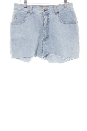 Aigner Pantaloncino di jeans blu stile casual