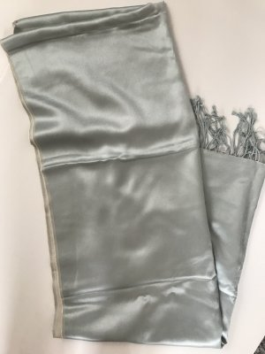 Aigner Écharpe en cachemire gris vert-crème