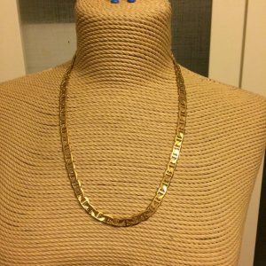 Aigner Gold Chain sand brown