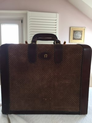 Aigner Suitcase dark brown