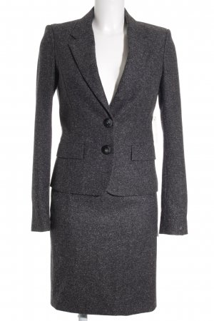 Aigner Ladies' Suit anthracite-light grey flecked business style