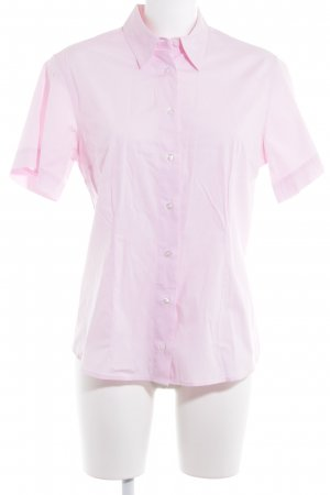 Aigner Chemise à manches courtes rose clair-rose style classique