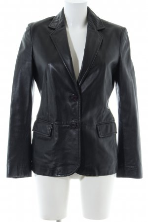 Aigner Leather Blazer black casual look