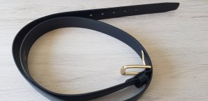 Aigner Belt black leather