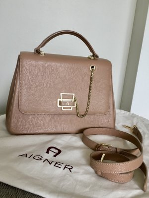 Aigner Handbag multicolored leather