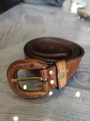Etienne Aigner Cintura di pelle cognac