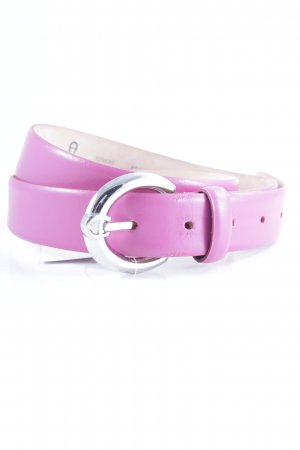 Aigner Leather Belt pink casual look