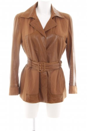 Aigner Leather Jacket brown casual look