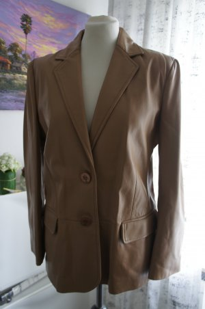Aigner Leather Jacket beige