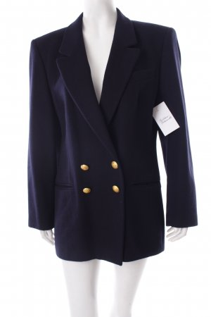 Aigner Long-Blazer dunkelblau Business-Look
