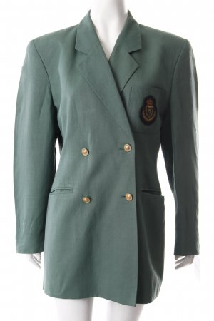Aigner Blazer long vert gazon style d'affaires