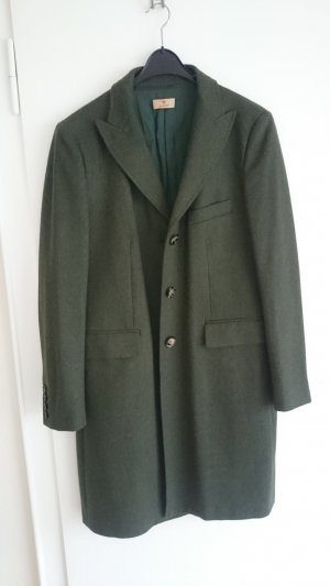 Aigner Cappotto in lana verde bosco-verde scuro Tessuto misto