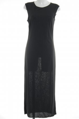 Aigner Maxi Dress anthracite simple style