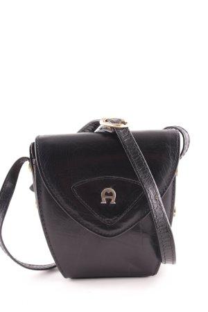 Aigner Minitasche schwarz Elegant