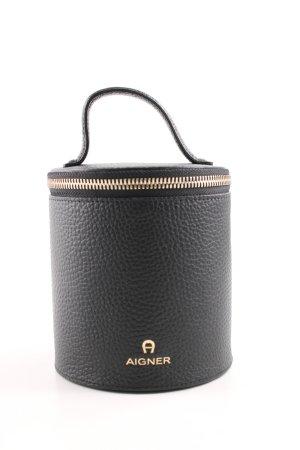 Aigner Mini Bag black-gold-colored simple style