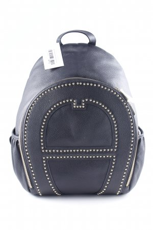 Aigner Laptop Backpack black casual look