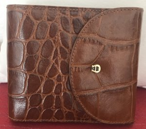 Aigner Card Case brown leather