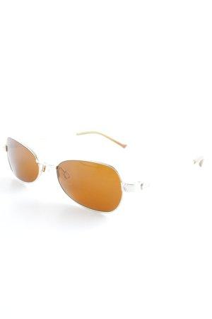 Aigner Occhiale da sole ovale argento-oro look retrò