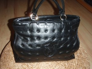 Aigner Carry Bag black-gold-colored
