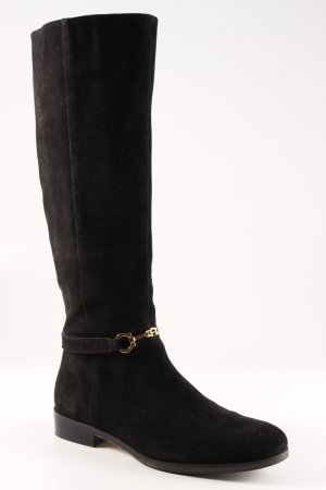 Aigner Jackboots black classic style
