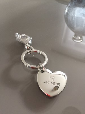 Aigner Key Chain silver-colored