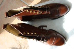 Aigner Schuhe / Stiefel/ braun/ Gr.38/ Leder/ Stiefeletten