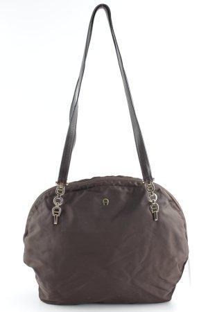 Aigner Shopper dark brown business style