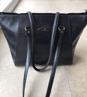 Aigner Shopper Tasche Bag Vintage Große Tasche Designer