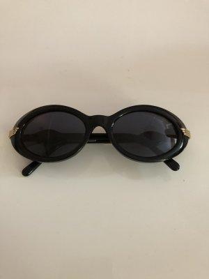 Aigner Ovale zonnebril zwart