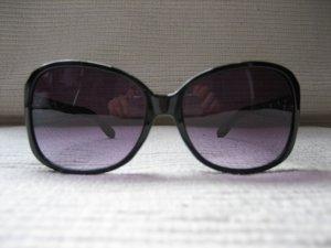 aigner sonnenbrille top zustand edel leder schwarz