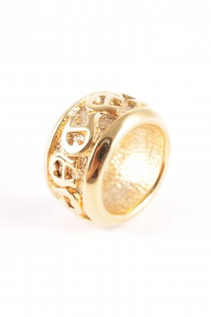 Aigner Statement Ring gold-colored extravagant style