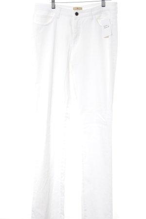 Aigner Jeans a gamba dritta bianco stile classico
