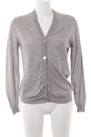 Aigner Giacca in maglia grigio stile casual