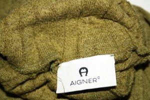 Aigner Strickpullover olivgrün Gr. 38 (M) / wie NEU !