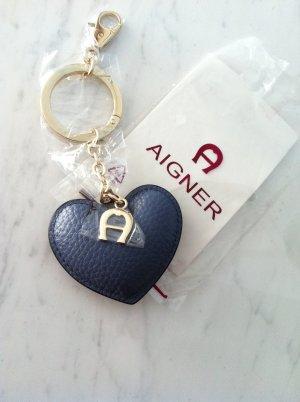 AIGNER stylischer Taschenanhänger, Schlüsselanhänger, NEU! NP: 100,00€!