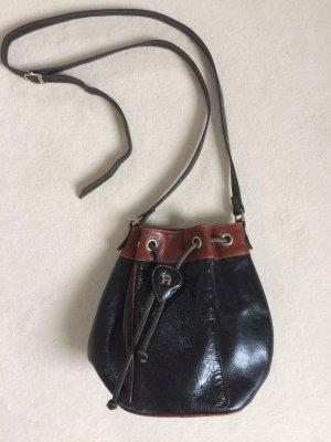 Aigner Tasche Beutel Beuteltasche Vintage