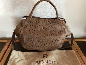 Aigner-Tasche - geräumig  40 cm x 15 cm x 35 xm
