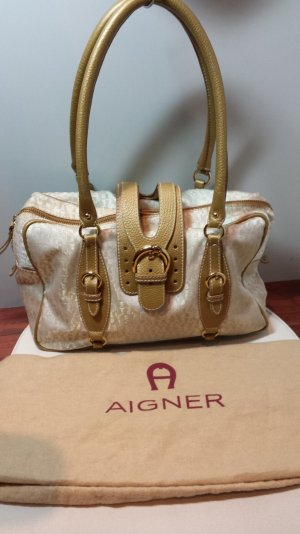 Aigner Carry Bag cream-gold-colored