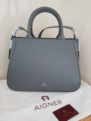 Aigner Tasche Vittoria Grau Neu Original verpackt OVP 660 Euro