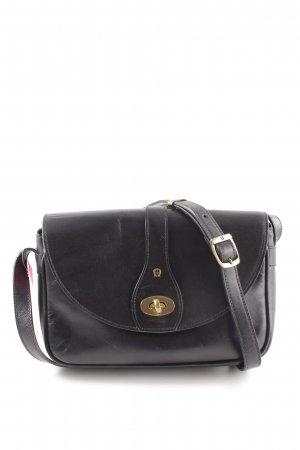 Aigner Crossbody bag black-gold-colored casual look